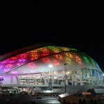 2341440 12/22/2013 The Fisht Olympic Stadium in the Olympic Park in Sochi. Алексей Куденко/РИА Новости
